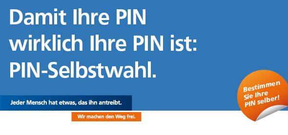 PIN-Selbstwahl